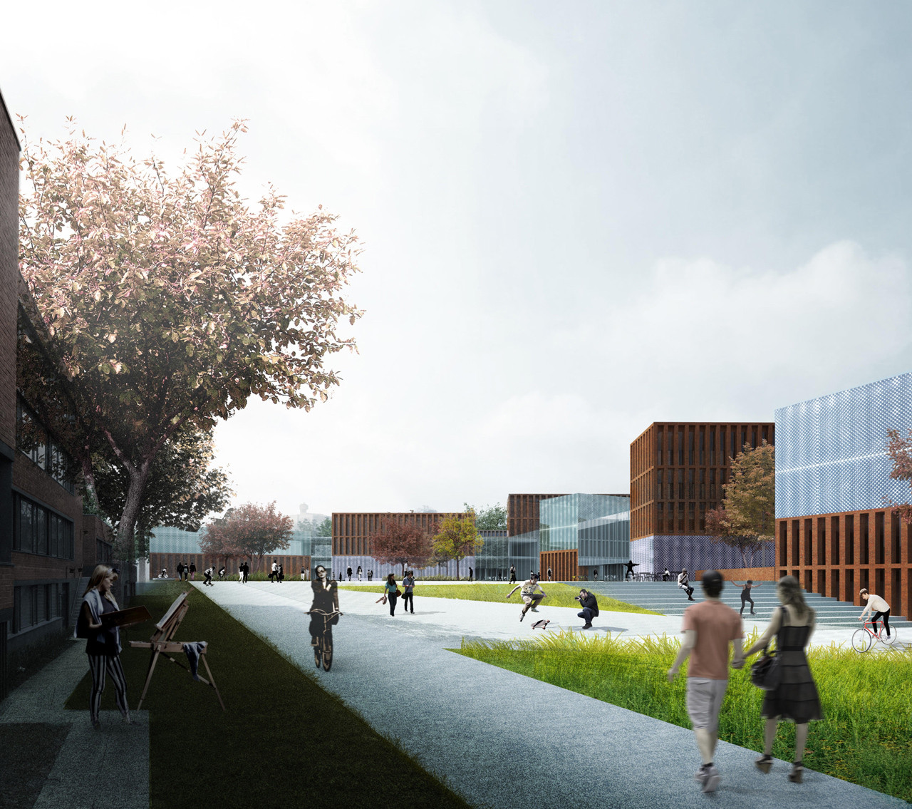 Verstas Architects Selected for New Core of Aalto University in Finland, Courtesy of Verstas Architects Ltd