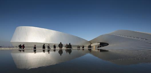 Winner display: Denmark's Aquarium - The Blue Planet by 3XN