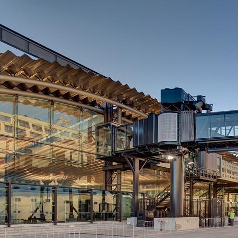 Transport winner: Sydney Cruise Terminal, Australia by Johnson Pilton Walker Architects