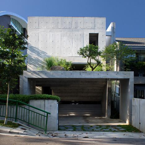 Villa winner: Namly House, Singapore by CHANG Architects