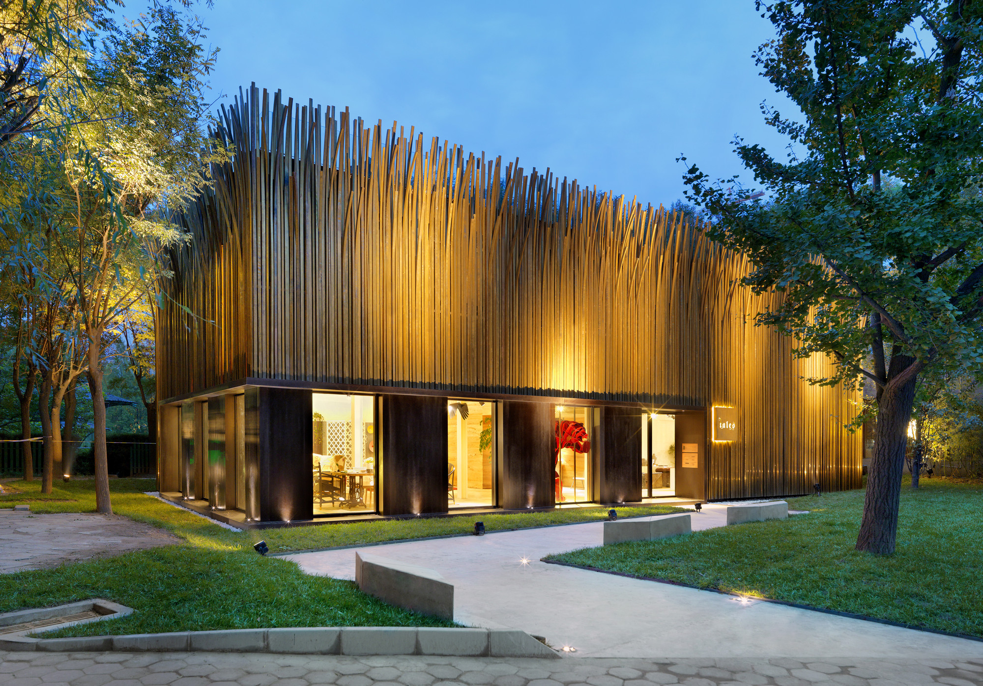 Tales Pavilion / Luca Nichetto, © Jonathan Leijonhufvud