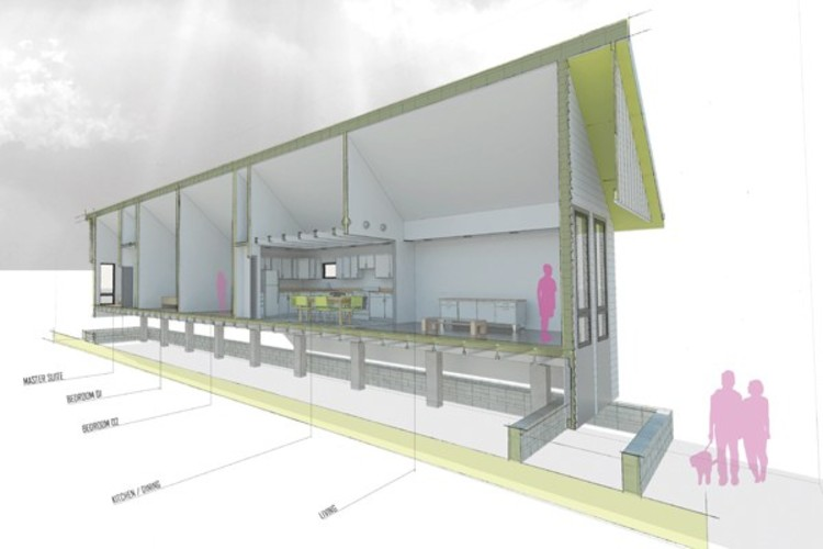 """Vencedores do """"Designing Recovery"""": Habitações dignas para cidades vulneráveis, Cortesia de GOATstudio"""