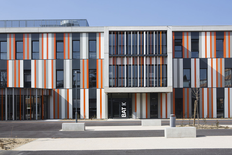 Escola de Segundo Grau Lycée Albert Einstein / NBJ Architectes + François Privat, © Paul Kozlowski