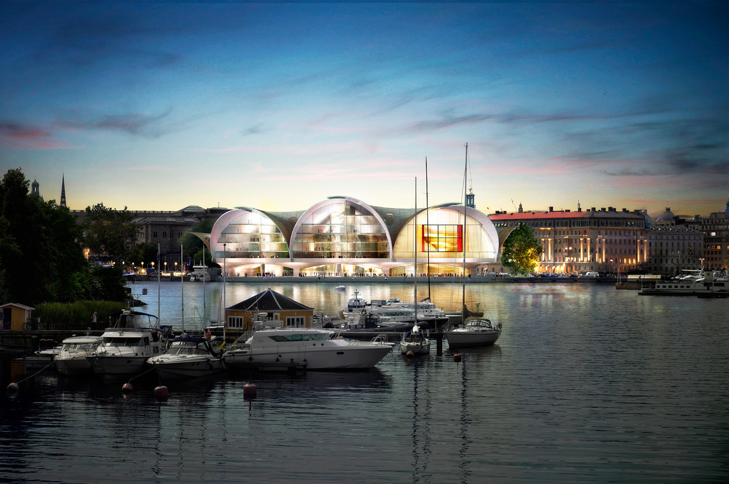 Gallery Of Proposals Unveiled For Nobel Prize S New Home