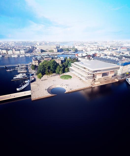 Las 11 propuestas para el nuevo Centro de Fundación Nobel en Estocolmo, A P(a)lace to enjoy. Imagen © Nobelhuset AB