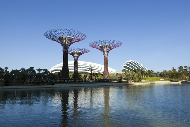 """""""Cooled Conservatories, Gardens by the Bay"""" recebe o RIBA Lubetkin Prize 2013 , Cooled Conservatories, Gardens by the Bay / Courtesy of RIBA. Image © Craig Sheppard"""