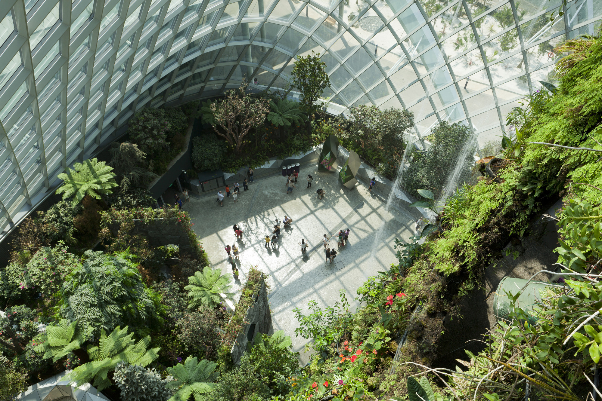 Cooled Conservatories Gardens By The Bay Wins The Riba