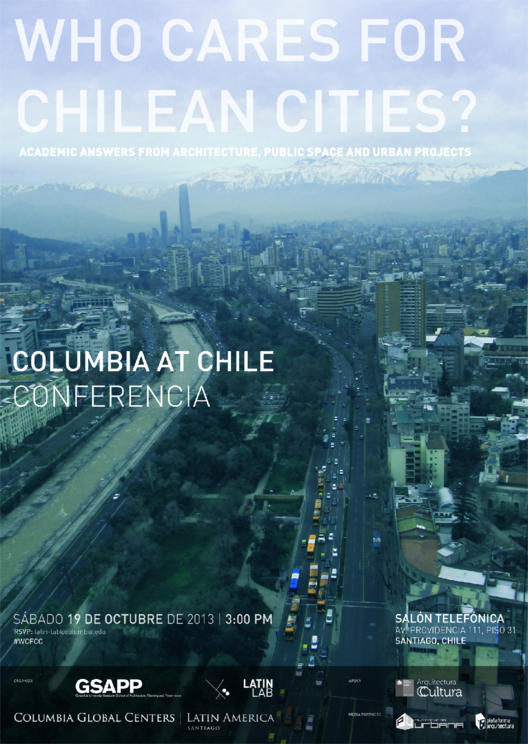 Columbia at Chile: Who Cares for Chilean Cities?