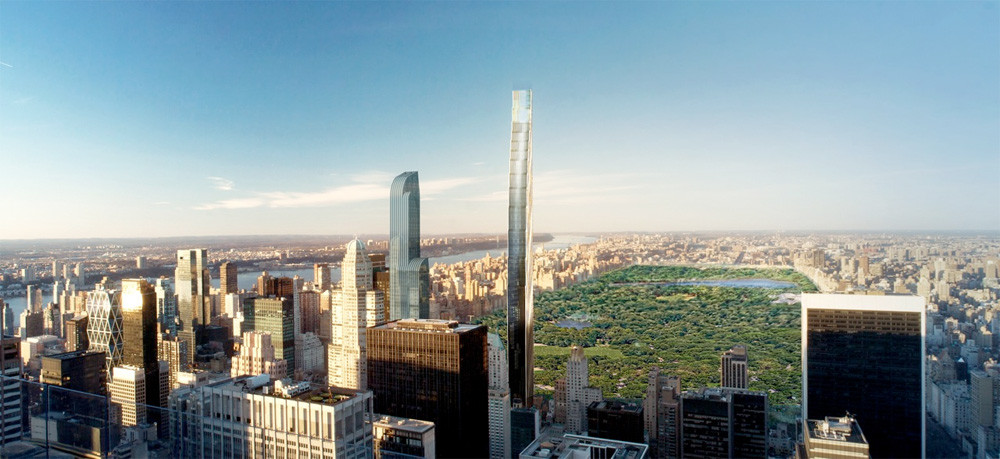 SHoP Architects' Super Tall Tower Approved, Sets Precedent for NYC, © SHoP Architects