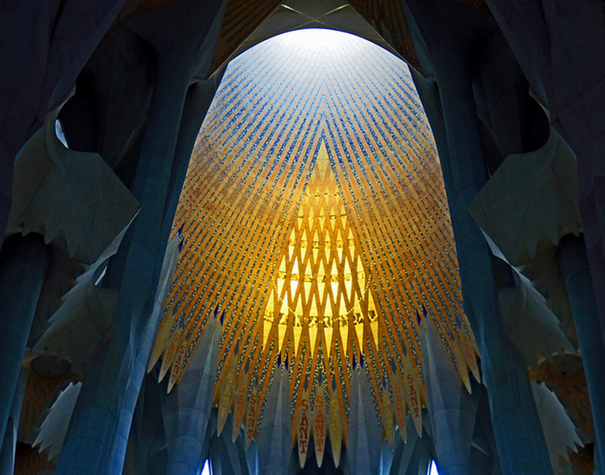 Ad Classics La Sagrada Familia Antoni Gaudi Archdaily