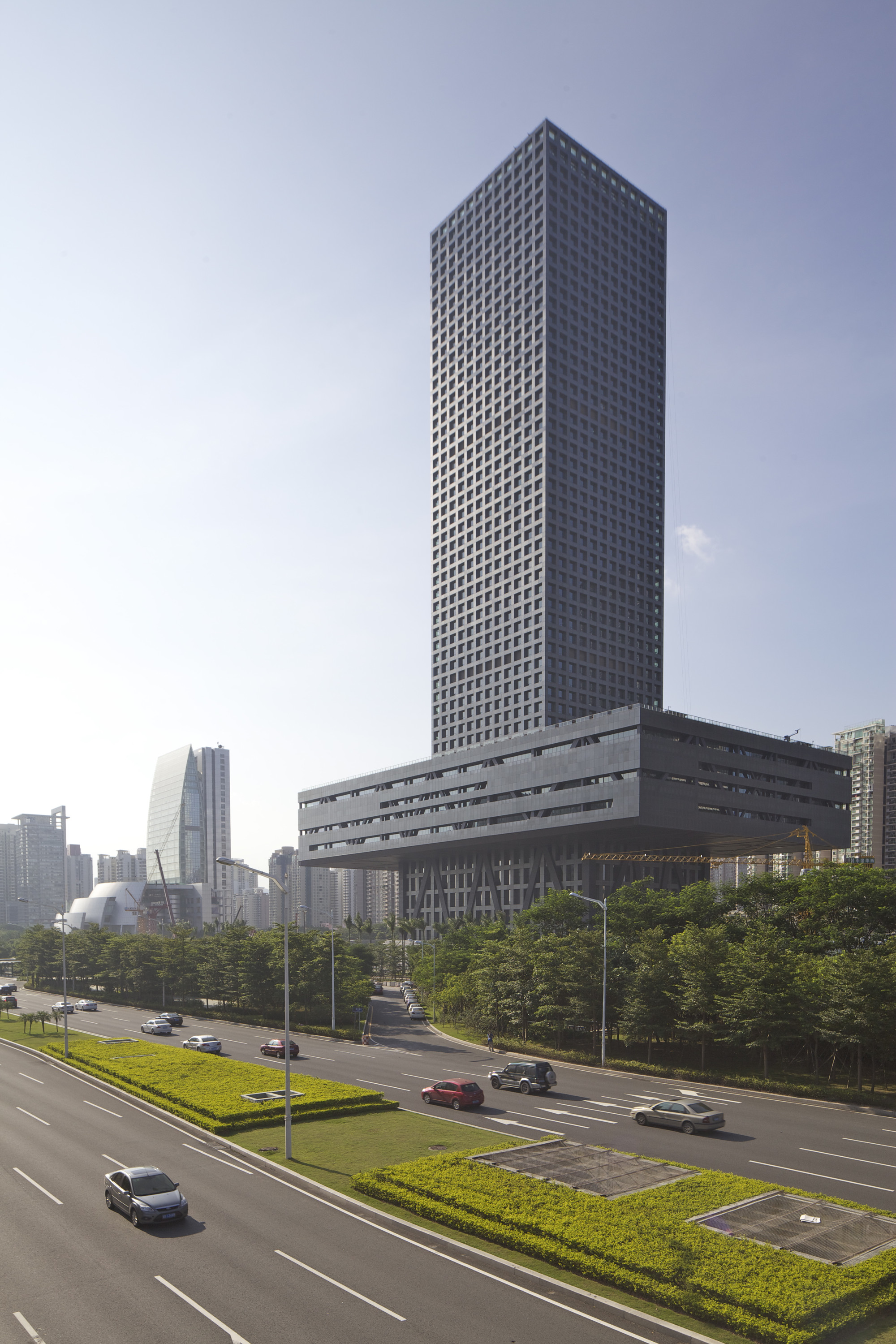 Gallery Of Shenzhen Stock Exchange Hq Oma 12