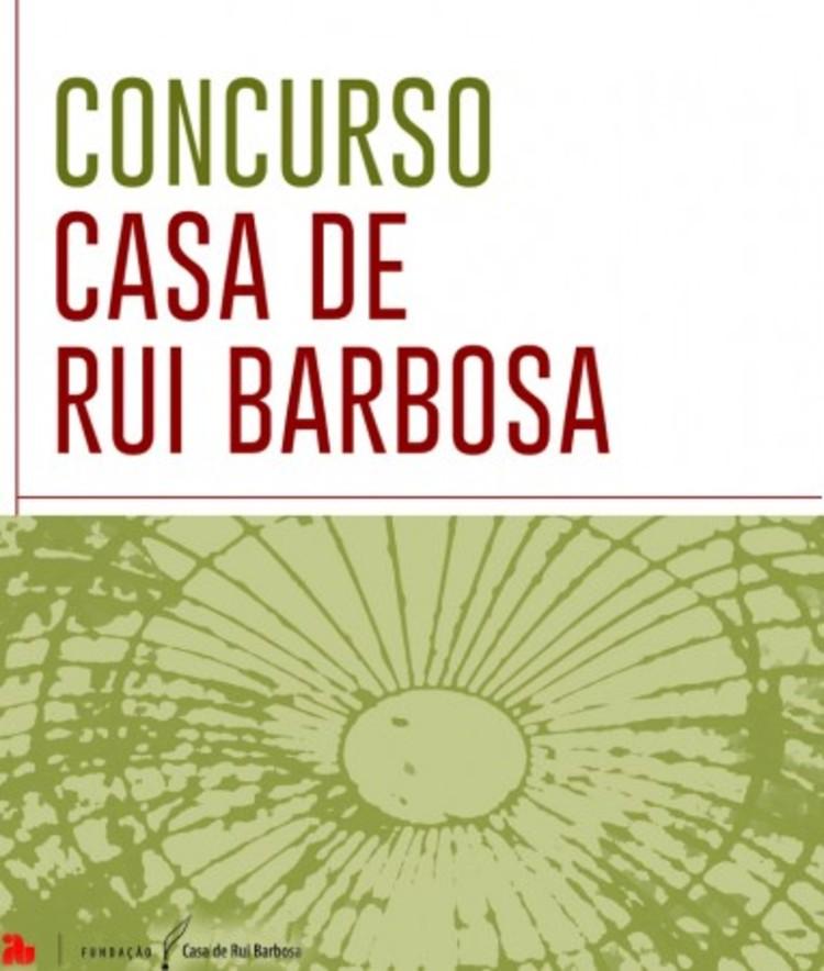 """Concurso Nacional  de Projeto """"Casa de Rui Barbosa"""""""