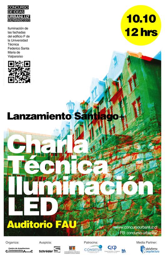 Lanzamiento Concurso UrbanLuz en Santiago