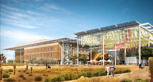 A render from Aditazz's entry to the Small Hospital, Big Idea competition. Image Courtesy of Aditazz