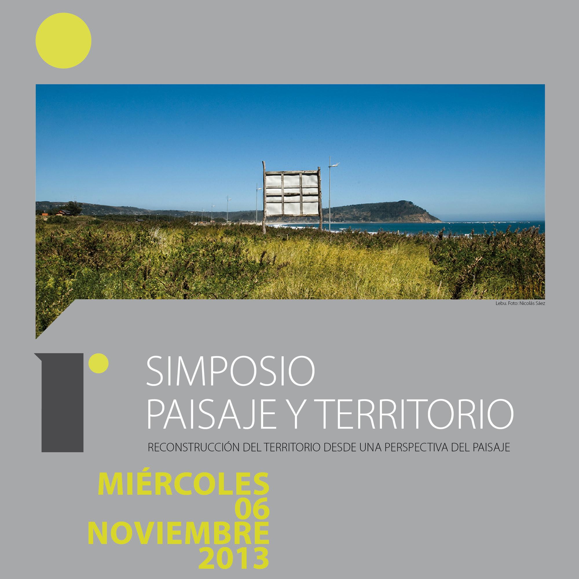 1º Simposio Paisaje y Territorio + Concurso de Fotografía / UBB, Courtesy of UBB