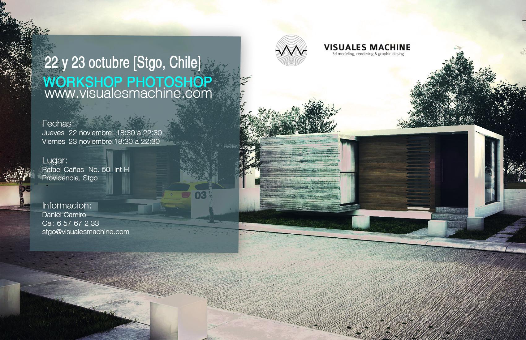Workshop Postrenderizado en Santiago / Visuales Machine [¡Sorteamos un Cupo!]