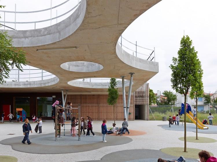 Escuela Lucie Aubrac / Laurens&Loustau Architectes, © Stéphane Chalmeau