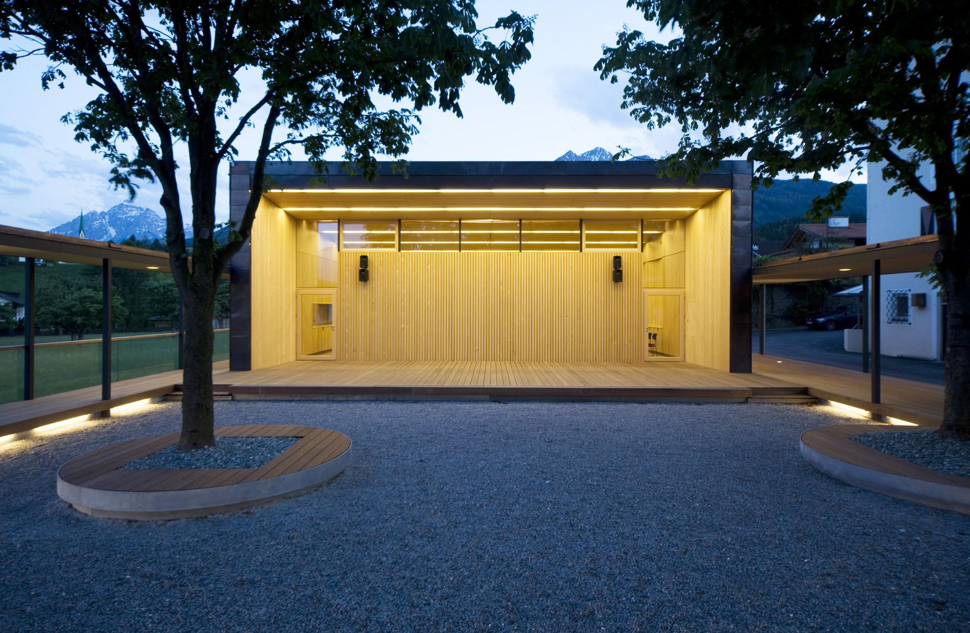 Galer a de musikprobelokal sch tzenheim natters for Architektur werkstatt