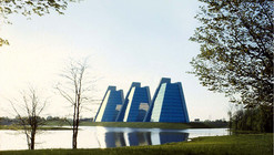 AD Classics: College Life Insurance Company Headquarters / Kevin Roche John Dinkeloo and Associates