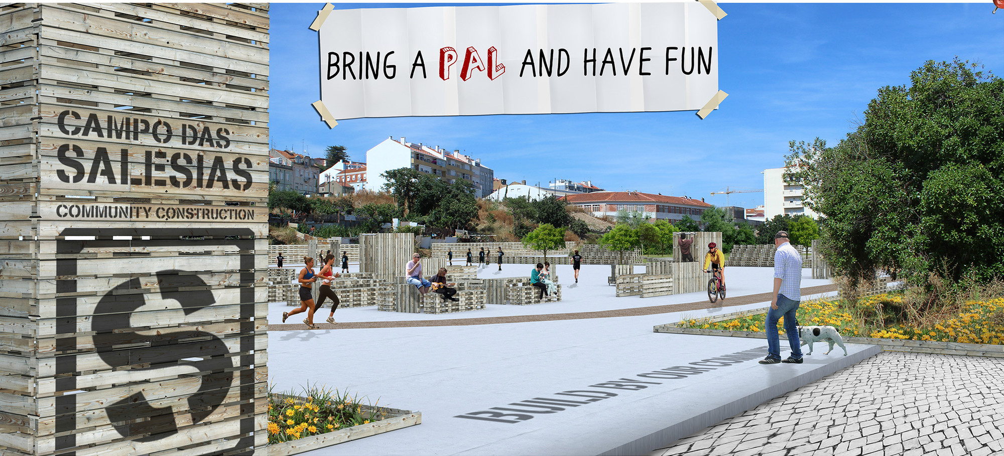 PLAYscapes Competition Results Announced, © Winning Student Team, Lusiada University of Lisbon