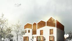 Primer Lugar Concurso Rehabilitación Casa de la Música en Grañén