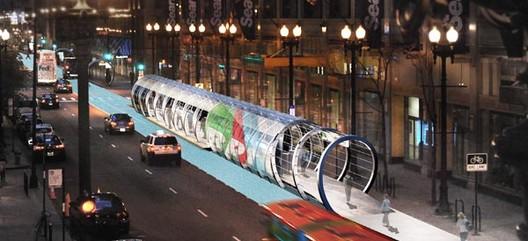 HALO Transit Proposal. Image Courtesy of rtkl.com