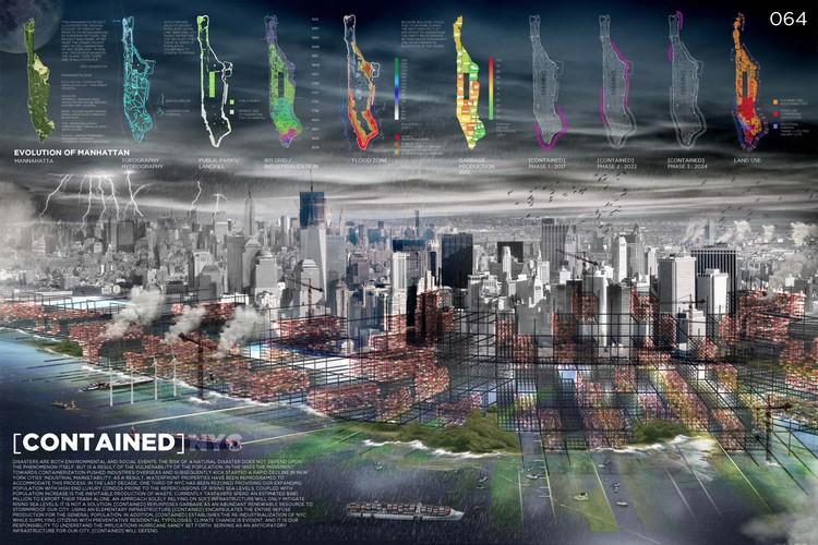 Anunciados os finalistas do Prêmio ONE 2013, [Contained] NYC. Cortesia de ONE Prize