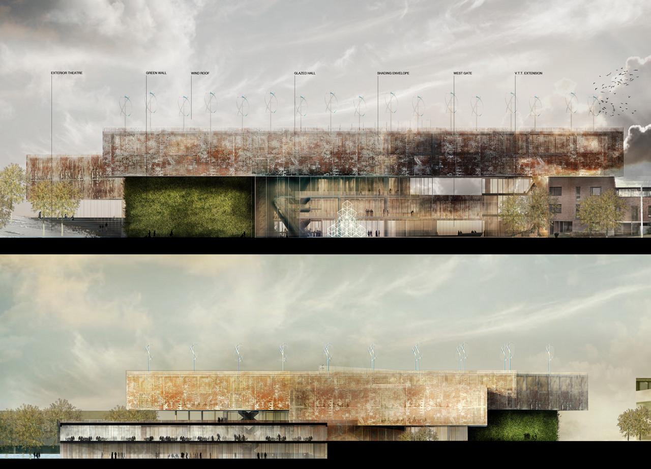 """The Hug"" / MenoMenoPiu Architects & Paolo Venturella"
