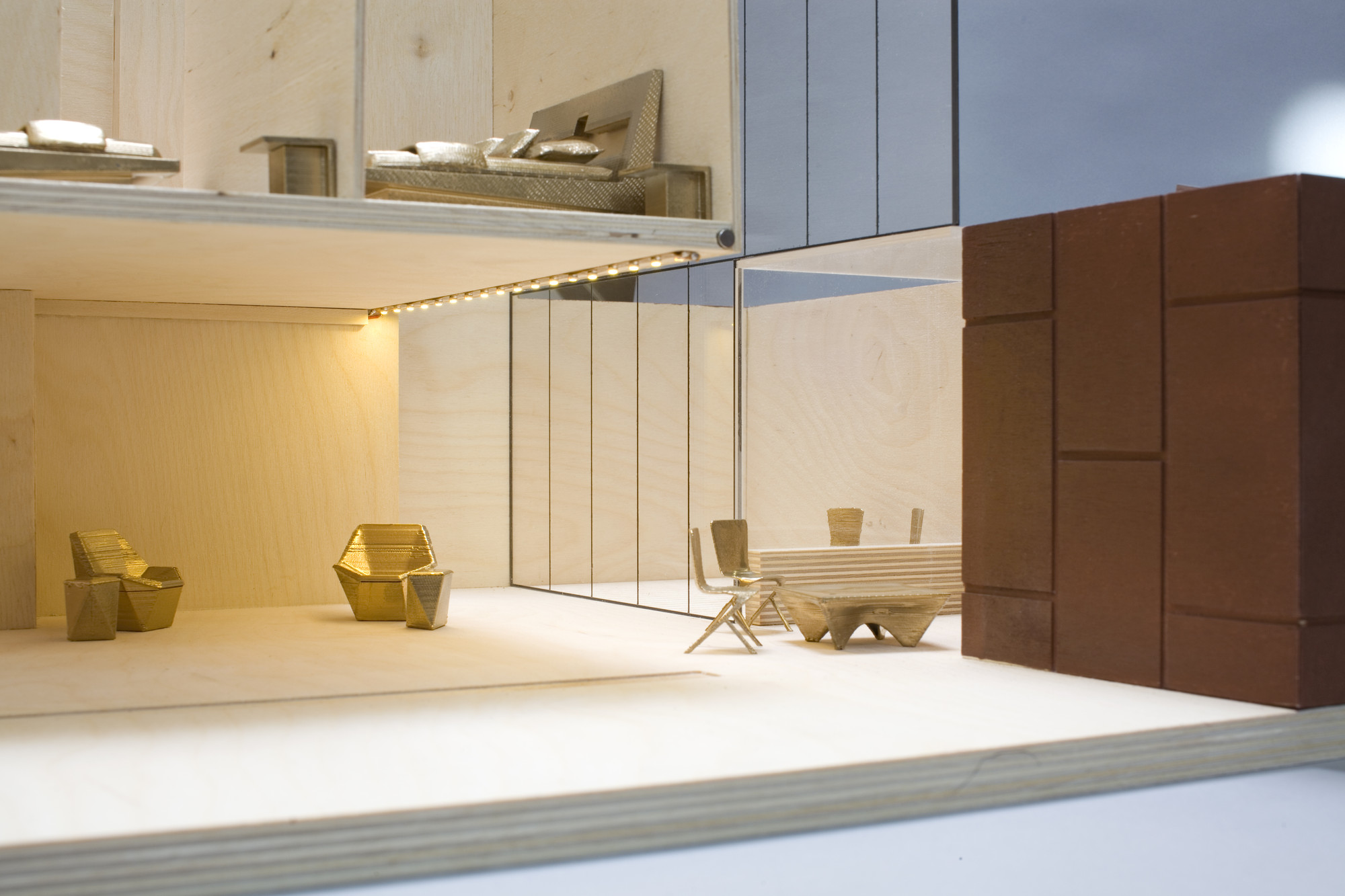 Dolls' House Designs for KIDS Unveiled, Adjaye Associates. Image Courtesy of A Dolls' House