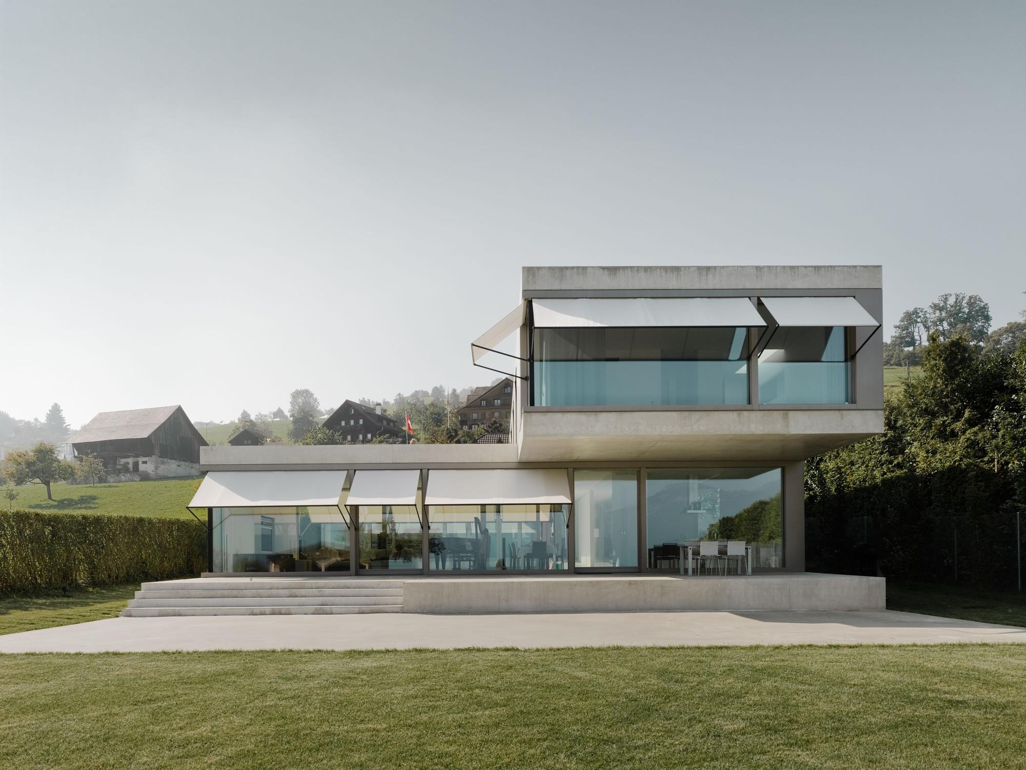 Villa M / Niklaus Graber + Christoph Steiger Architekten, © Dominique M.Wehrli