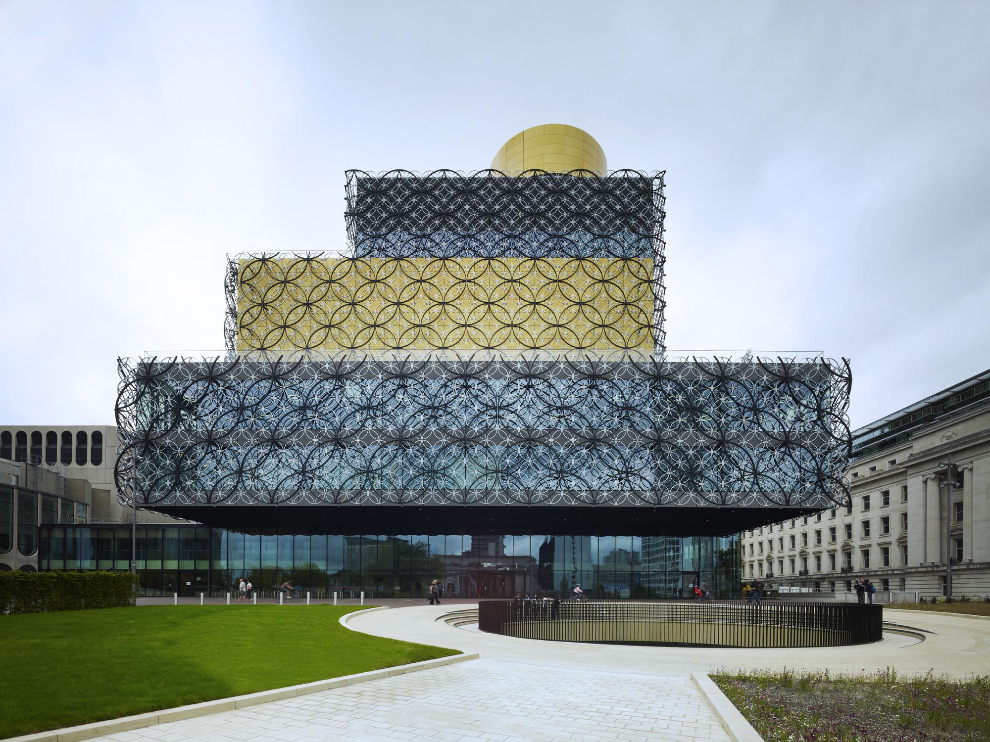 Francine Houben, Fundadora de Mecanoo dará conferencia en Chile, Biblioteca de Birmingham