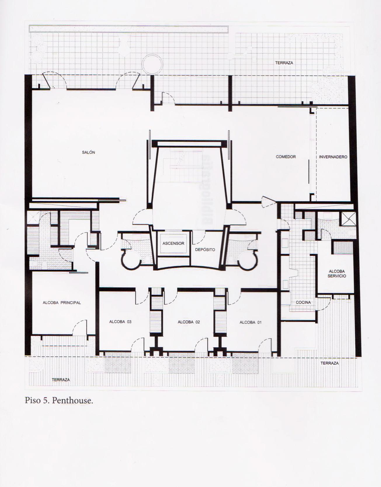 Galer a de ad classics cl sicos de arquitectura edificio for Plantas de oficinas arquitectura