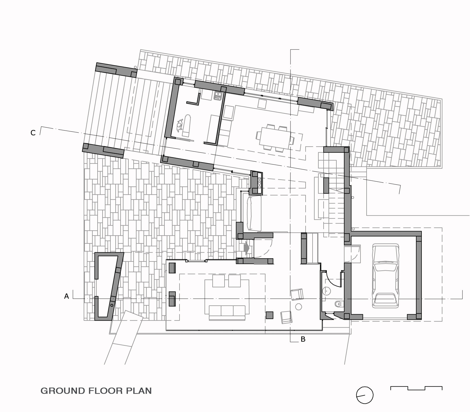 Gallery of villa di gioia pedone working 20 for Villa architecture design plans