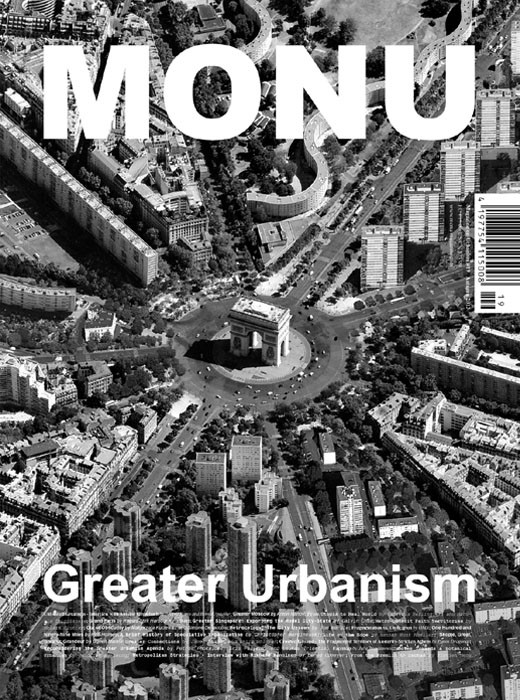 MONU Magazine New Issue: Greater Urbanism