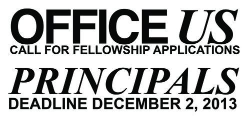 OfficeUS Principals: Call for Fellowship Applications