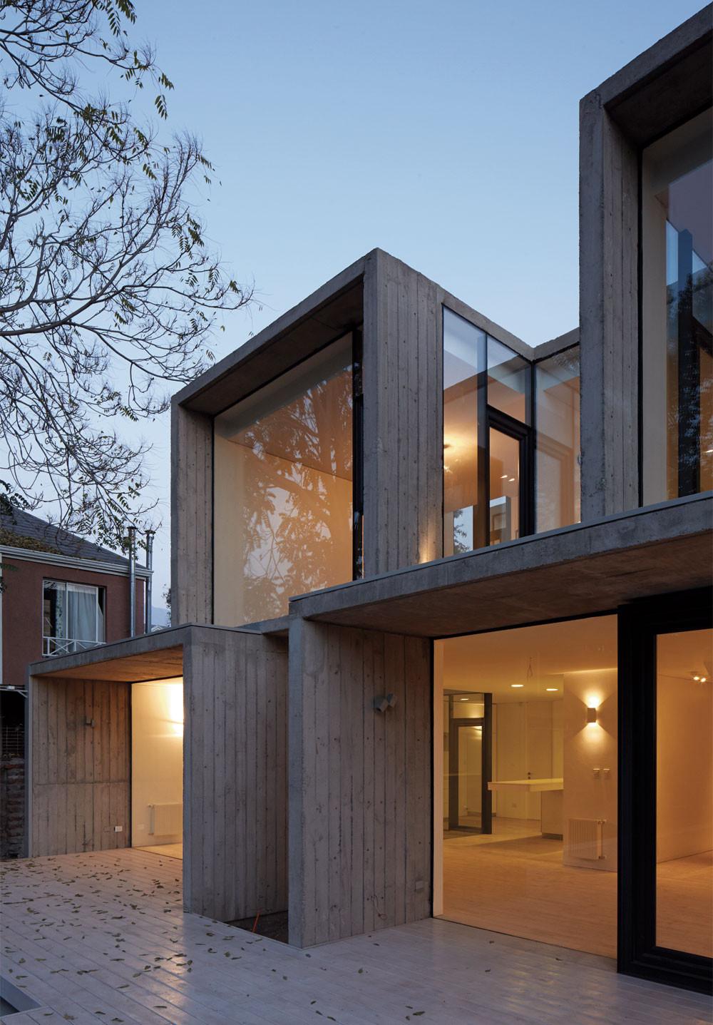 gallery of casa la ca ada ricardo torrej n 12. Black Bedroom Furniture Sets. Home Design Ideas