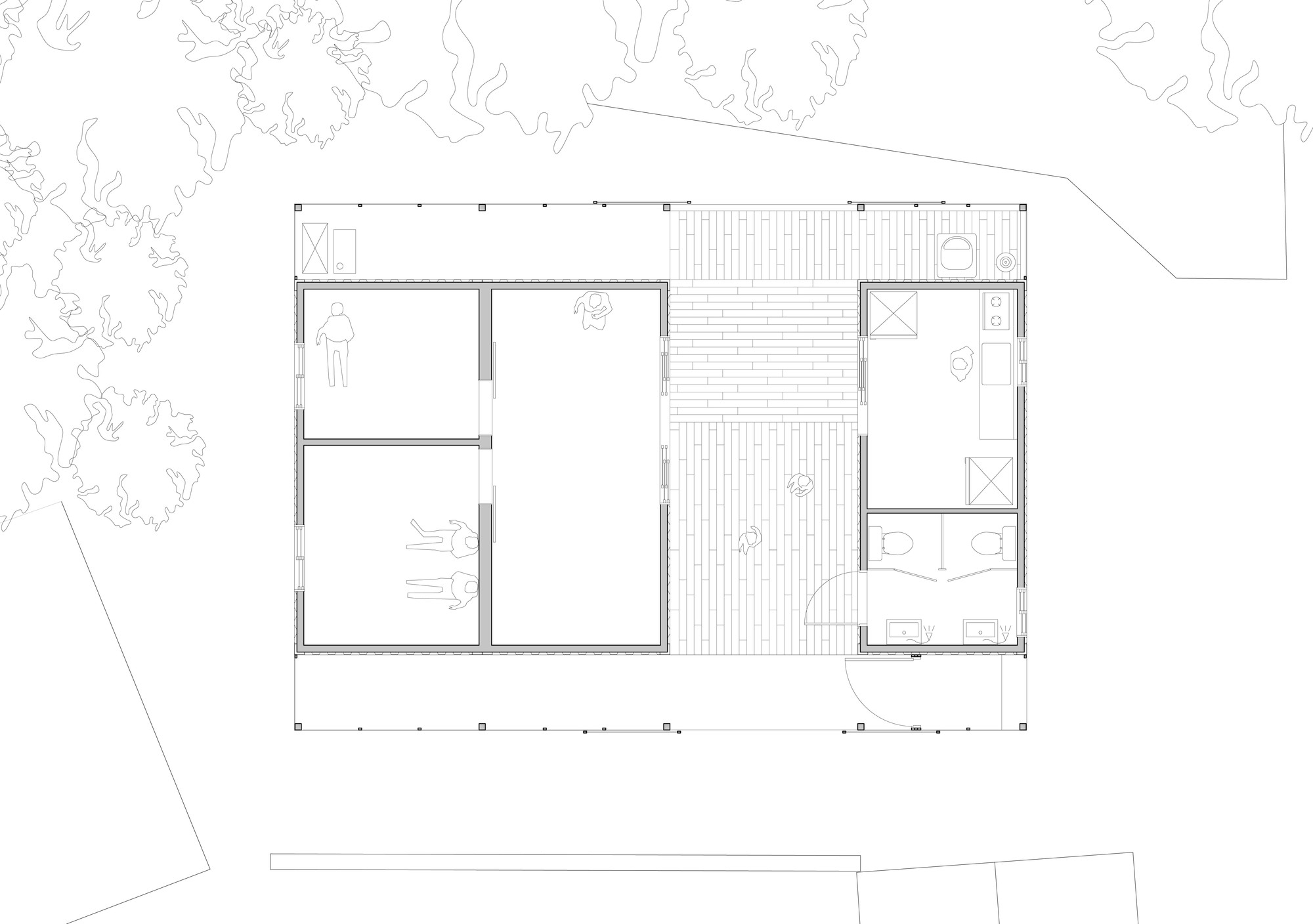 Gallery Of Low Cost House JYARCHITECTS 7 - Low Cost Housing Floor Plans