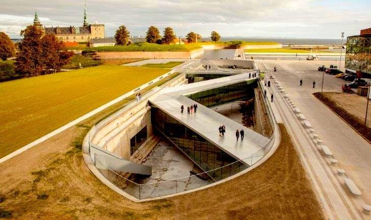 BIG presenta su proyecto subterráneo para el Museo Marítimo de Dinamarca, Courtesy of BIG