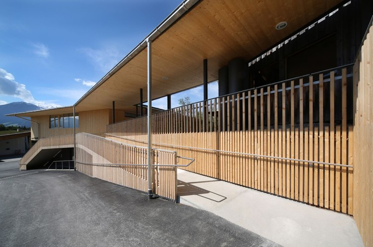 Estación de Bomberos | Club House | Gnadenwald / Gsottbauer architektur.werkstatt, © Birgit Köll
