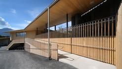 Estación de Bomberos | Club House | Gnadenwald / Gsottbauer architektur.werkstatt