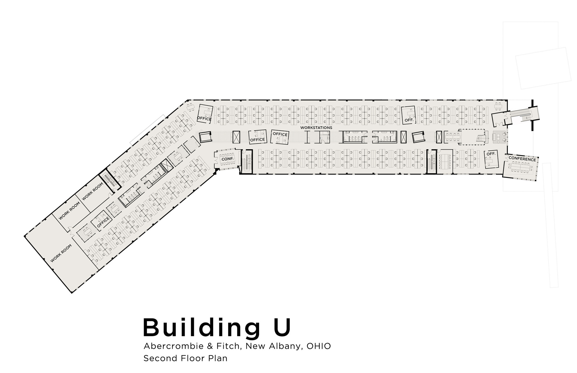 Gallery of Abercrombie & Fitch Building U / MJ Sagan Architecture - 11