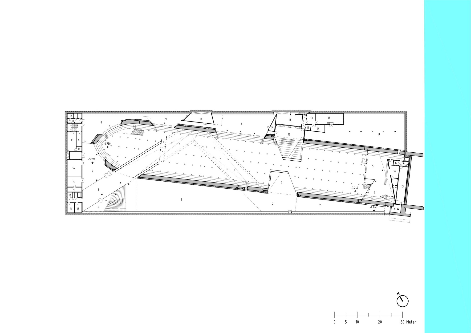Gallery of danish national maritime museum big 23 - Big floor plans gallery ...