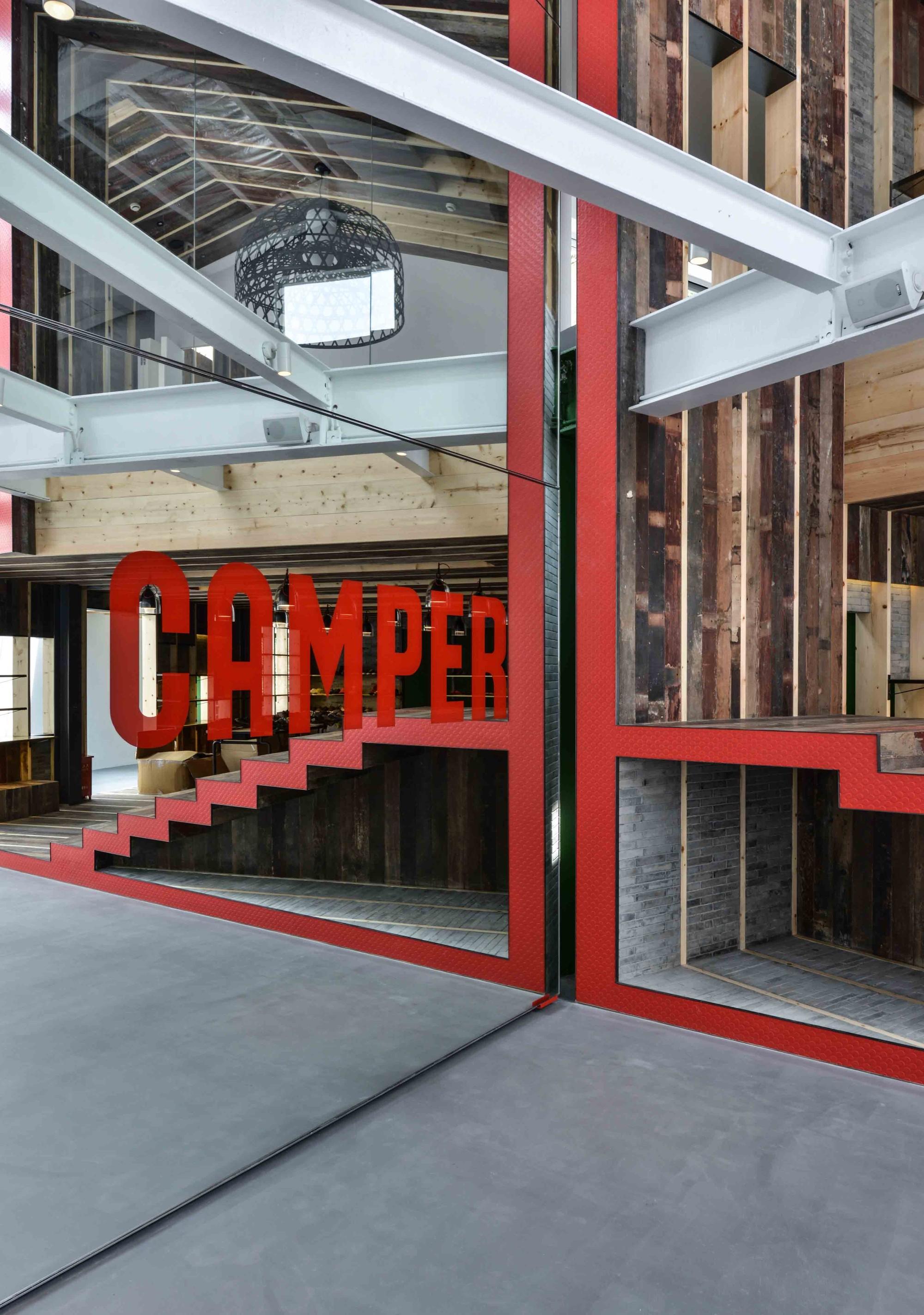 Camper Showroom / Neri&Hu Design and Research Office