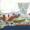 Plug-In City. Image © Peter Cook via the <a href='http://archigram.westminster.ac.uk/'>Archigram Archival Project</a>