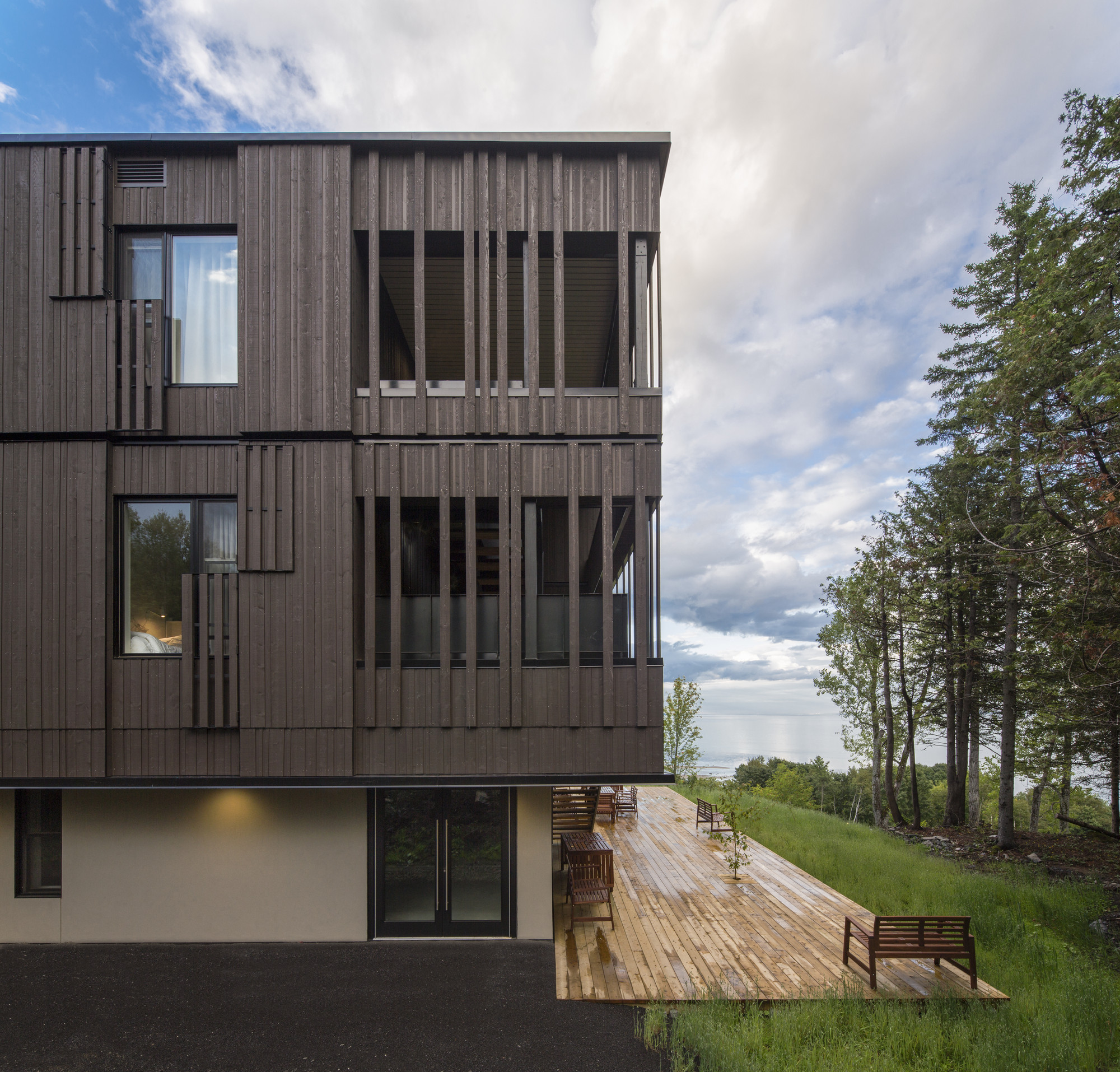 Student Residence Paul Lafleur / Bisson | Associés Architects, © Stephane Groleau