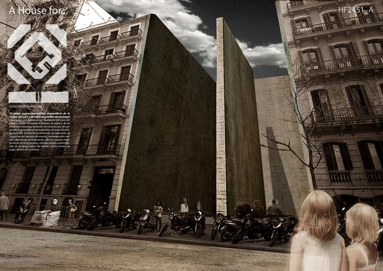 """México e Argentina entre os vencedores do concurso de ideias  """"A House for…"""", Menção Argentina"""