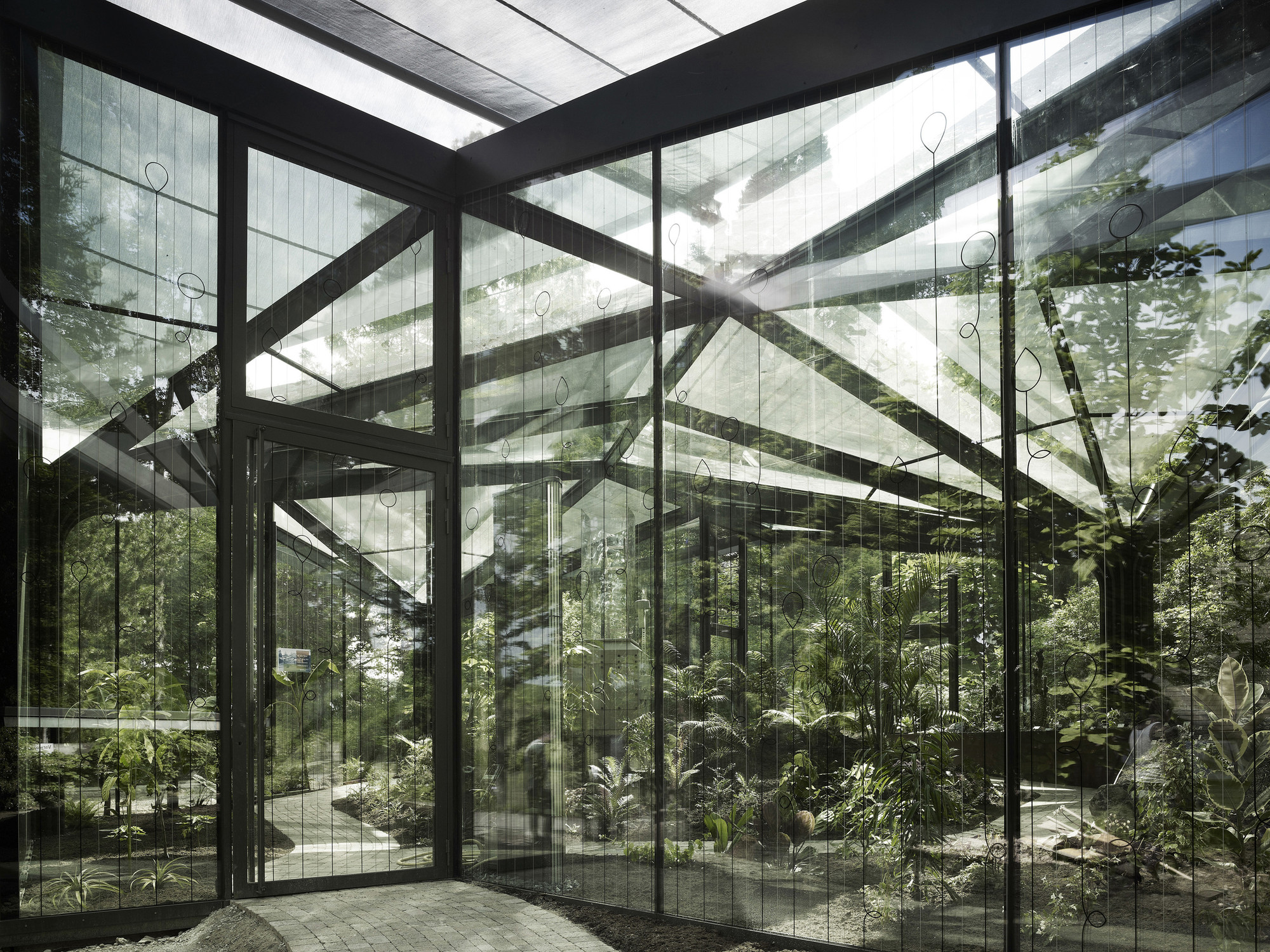 Greenhouse Botanical Garden Grueningen Ida Archdaily