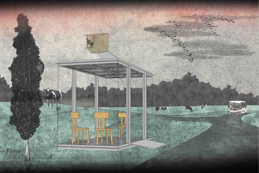 gallery of world famous architects design bus stops for