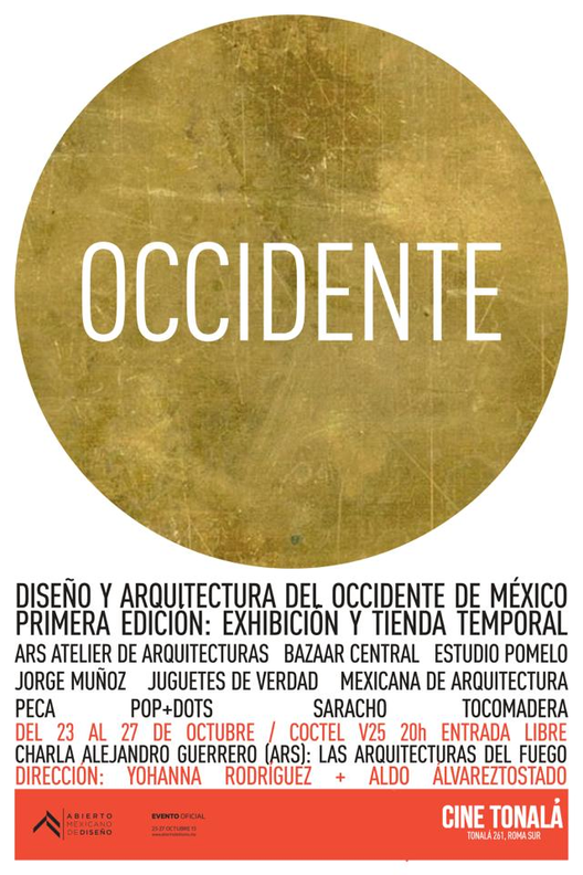 OCCIDENTE dentro del Abierto Mexicano de Diseño