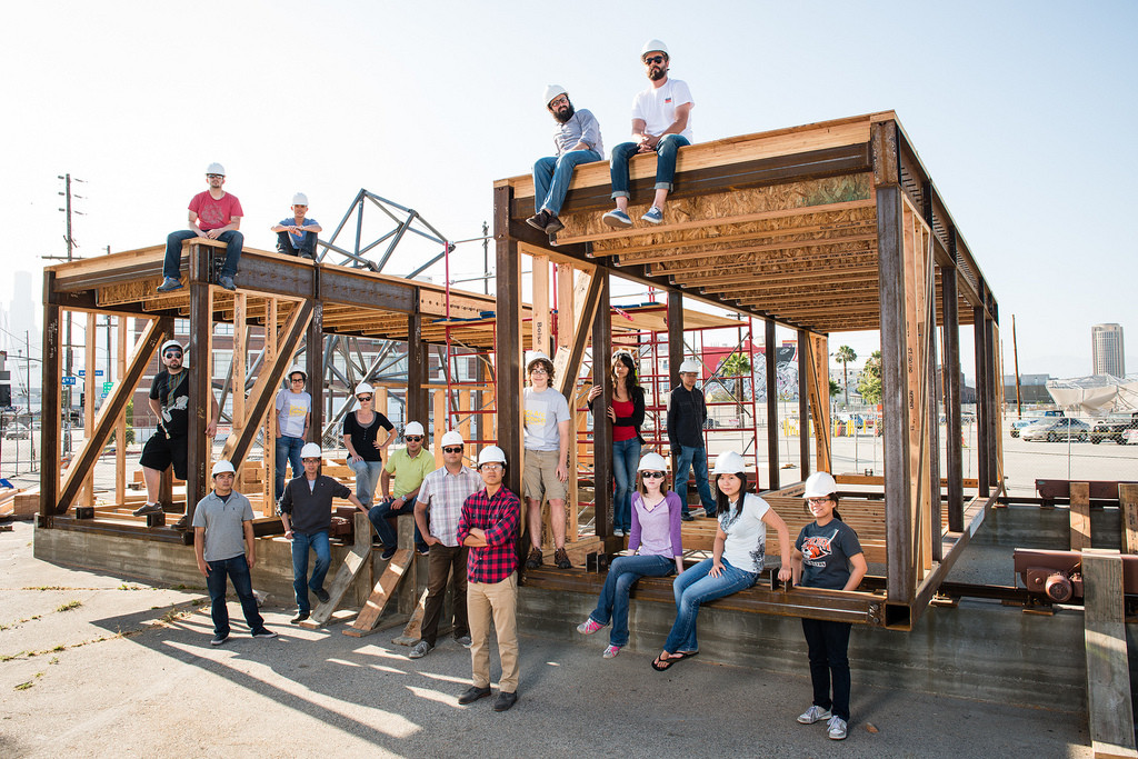 Solar Decathlon 2013: SCI-Arc & Caltech Create California-style, Zero Net Energy Bungalow, © Paolo Tadoc / SCI-Arc